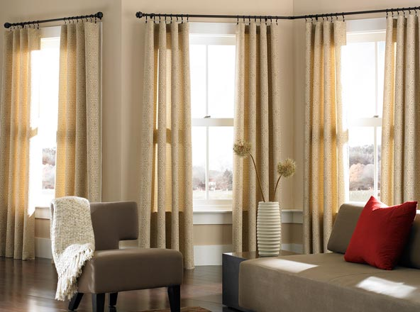 Corner Curtain Hardware - Curtains Design Gallery
