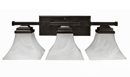 3 Light Vanity Manhattan